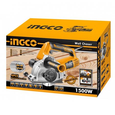 Masina de frezat caneluri, 1500w - INGCO WLC15008 [2]