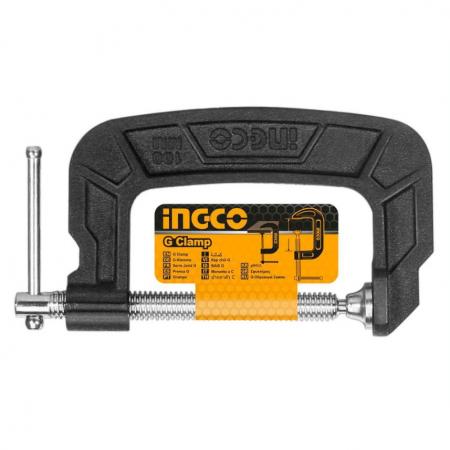 Menghina, presa, clema Lemn Tip G, 5125mm - INGCO HGC0105 [0]