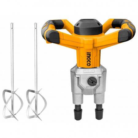 Mixer, amestecator dublu, pentru adezivi, mortar, 1800 W - INGCO MX218008 [0]
