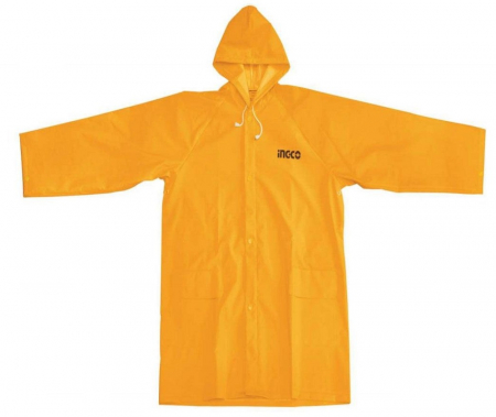 Pelerina ploaie, PVC, galben cu banda reflectorizanta - INGCO HRCTL031 [1]