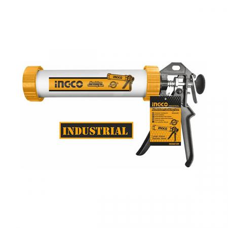 Pistol silicon, tub aluminiu , 235mm - INGCO HCG0109 [1]