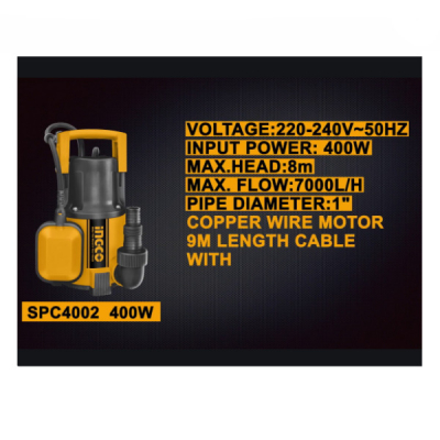 Pompa submersibila apa curata, murdara, 400w, 117L1
