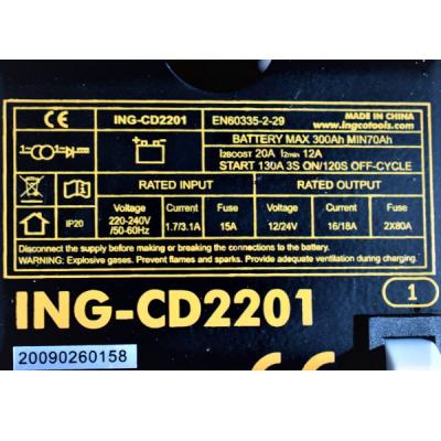 Robot pornire, incarcator, redresor baterie auto 12-24V1