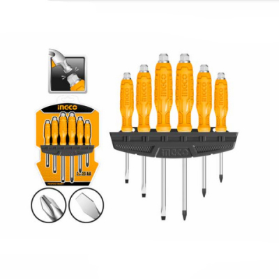 Set surubelnite mecanice, 6 buc, cu cap hexagonal - INGCO HSGTDC180601 [0]