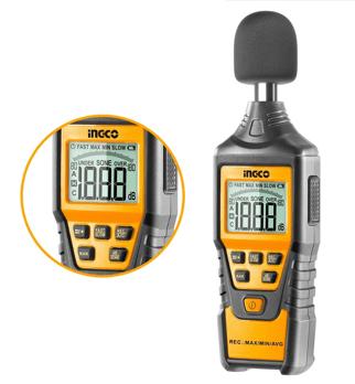 Sonometru (fonometru) digital profesional acustic pentru masurarea nivelului de sunet - INGCO HETSL01 [0]