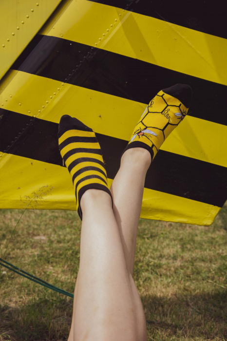 Sosete scurte bumbac Busy Bee [1]