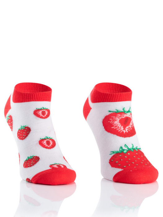 Sosete scurte bumbac Strawberry [2]