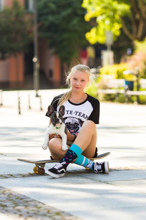 Sosete bumbac Lovely Dog [4]