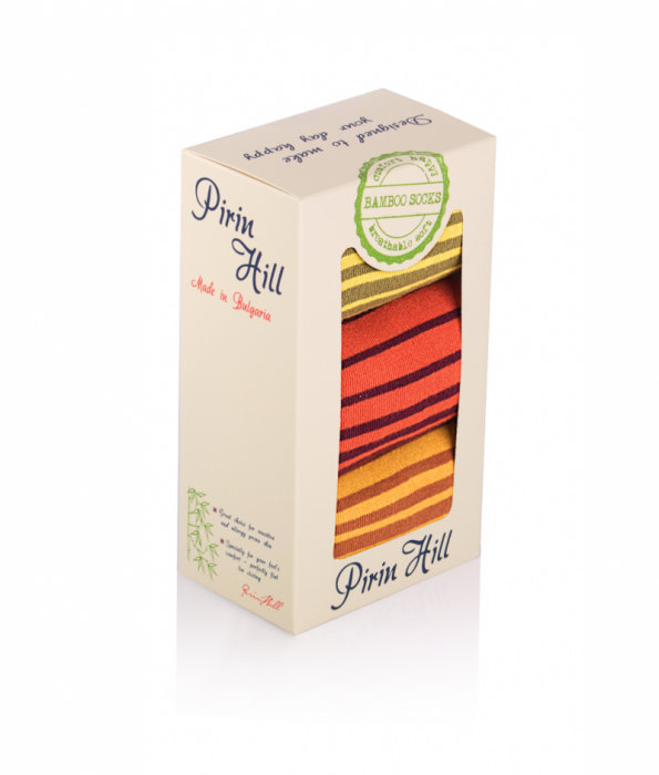 Sosete Confortabile Bambus Dungi Box 3 buc. [0]