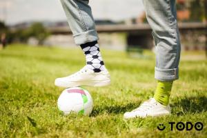 Sosete bumbac Football [3]