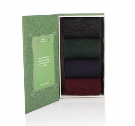 Sosete Merino Luxury Box 4 buc. [1]