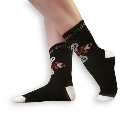 Sosete bumbac Dirty Socks black/white [0]