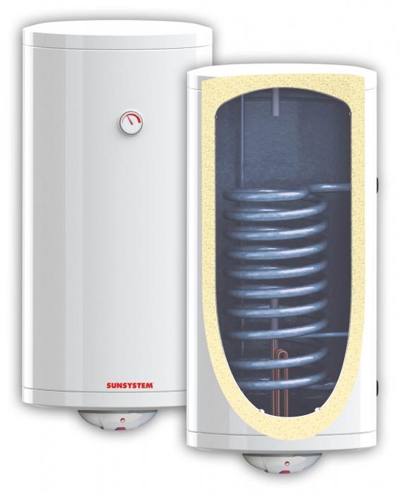 Boiler termoelectric 200l cu o serpentina Woody BB200 S1 0