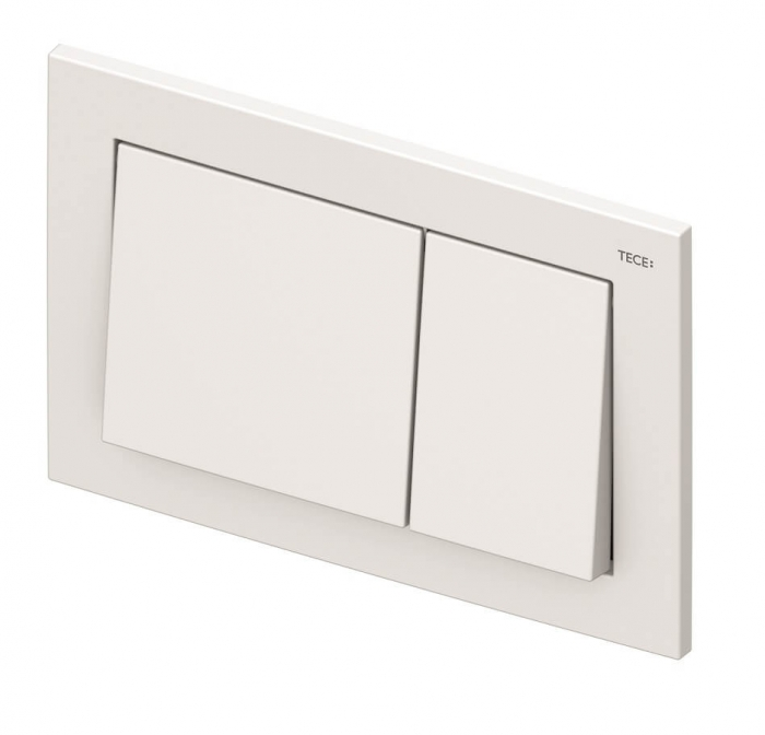 Rezervor WC Tece Base cu cadru ingropat si clapeta 1