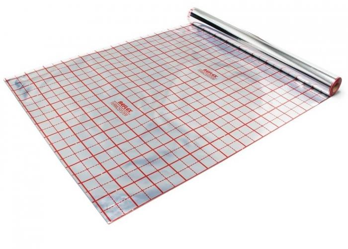 Folie cu aluminiu TECEfloor trasata, 52mp 0