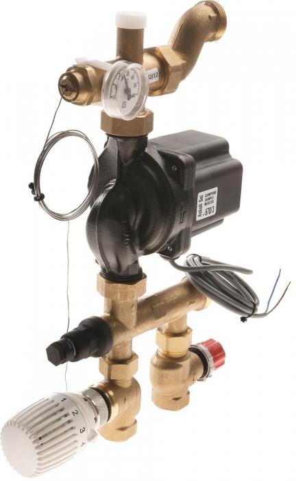 Grup amestec si pompare TECEfloor SLQ cu pompa electronica 0