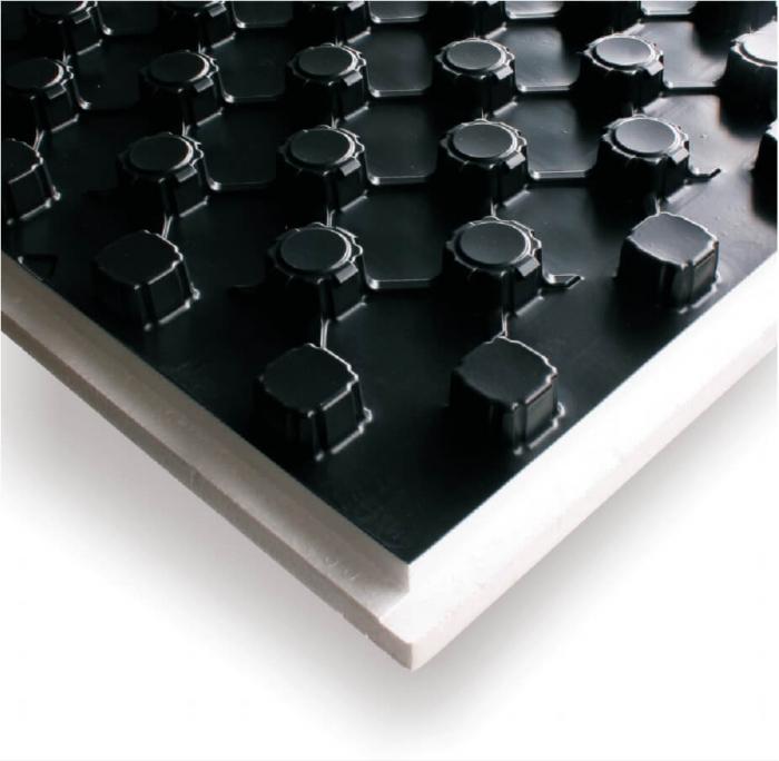 Placa cu nuturi pentru incalzire in pardoseala Fragmat Stirotermal DUO 32 1380 x 690 mm [1]