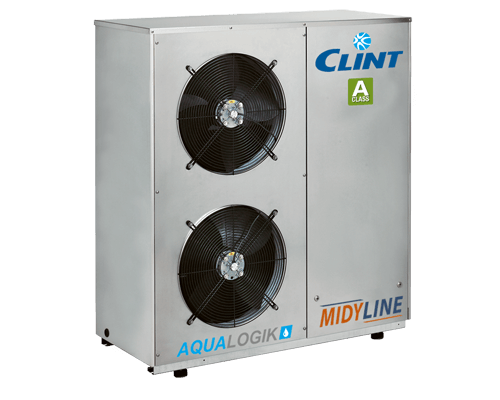 Pompa de caldura aer-apa 11.5 kW Clint Midy Line CHA/ML/ST 41 0