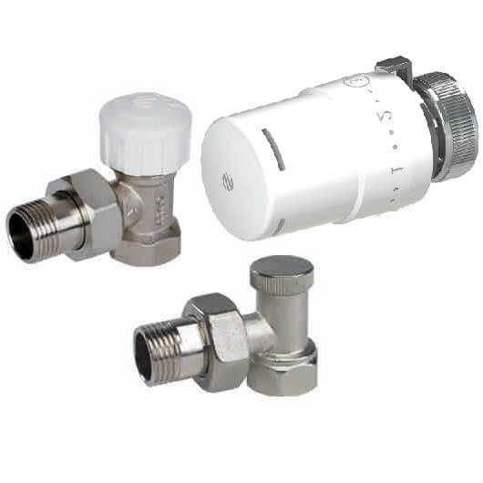Set robineti tur-retur cu cap termostatat Arco KCT01 0