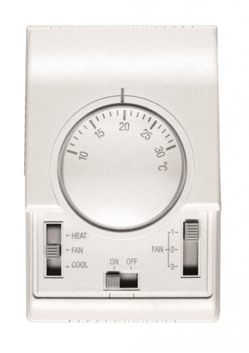 Termostat Flowair TS, 230 V, reglaj 3 trepte de debit 0