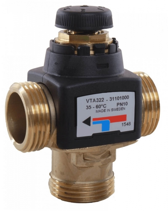 Ventil termostatic de amestec ESBE VTA 322-1/2 P 20-43°C 1