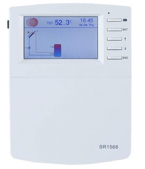 Controler pentru sistem de panouri solare termice SR1568 0