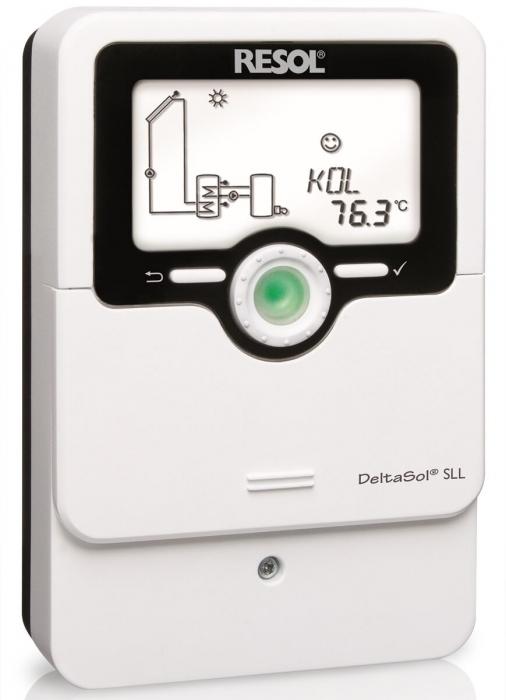 Automatizare Resol DeltaSol SLL pentru instalatii de panouri solare 0