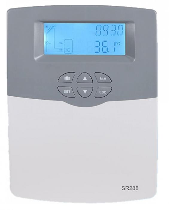 Controler pentru sistem de panouri solare termice SR288 [0]