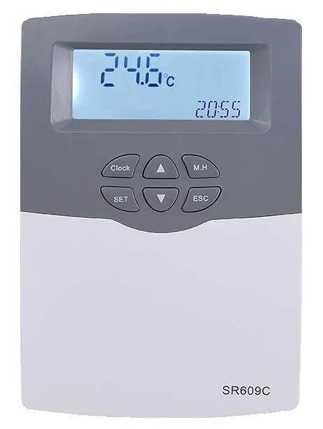 Controler pentru panouri solare compacte presurizate 0