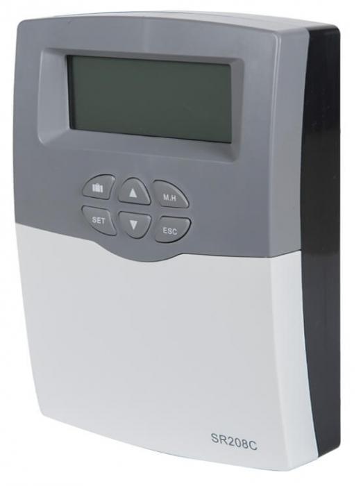 Controler pentru sistem de panouri solare termice SR 208C 1