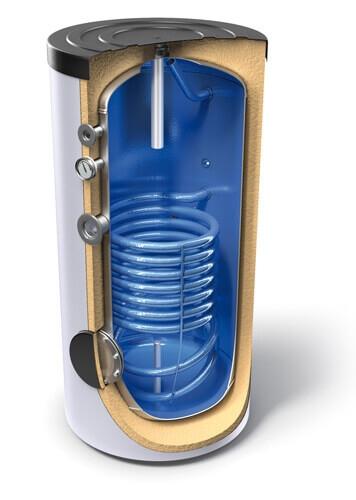 Boiler de sol cu serpentina Tesy EV 12S 300 65 - 300l 0