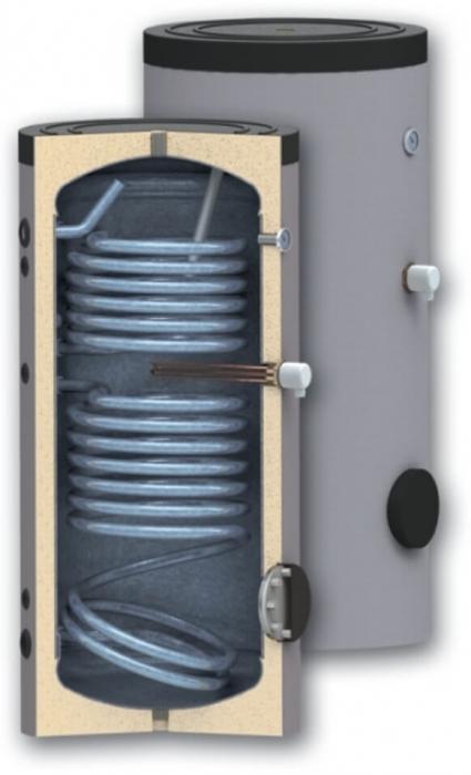 Boiler de sol, indirect cu doua serpentine Woody SON 400 [0]