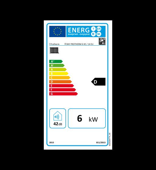 Centrala electrica monofazica Protherm Ray 6 kW 2