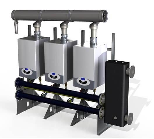 Centrala termica Ariston Genus Premium Evo HP 100 kW, doar incalzire 1
