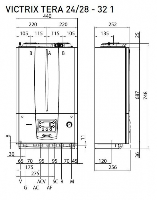 Centrala termica in condesare Immergas Victrix Tera 32 2
