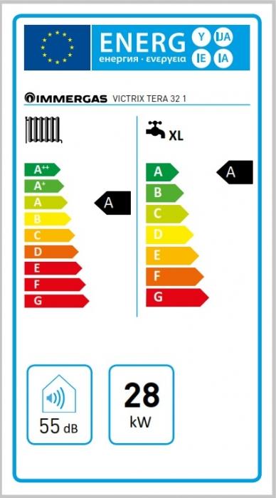 Centrala termica in condesare Immergas Victrix Tera 32 3