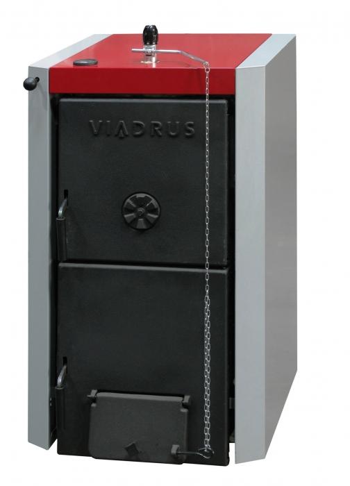 Centrala termica pe lemne, din fonta, Viadrus U22 D4 - 20 kW [0]