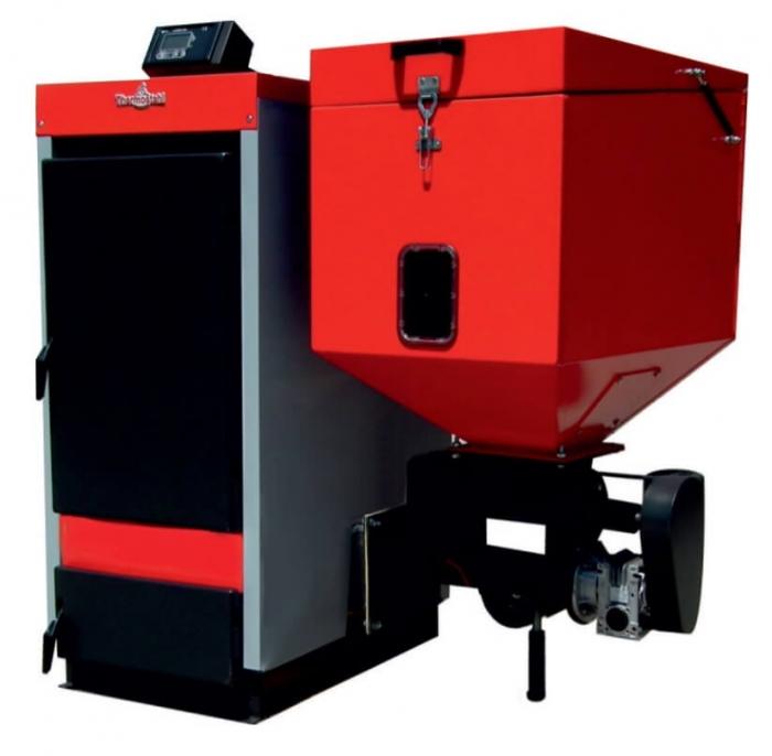 Centrala Thermostahl ECOBIO -R 50 kW cu fuctionare pe peleti-biomasa-lemn 0
