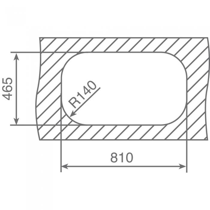 Chiuveta bucatarie din inox Teka Stylo 1B 1D 1
