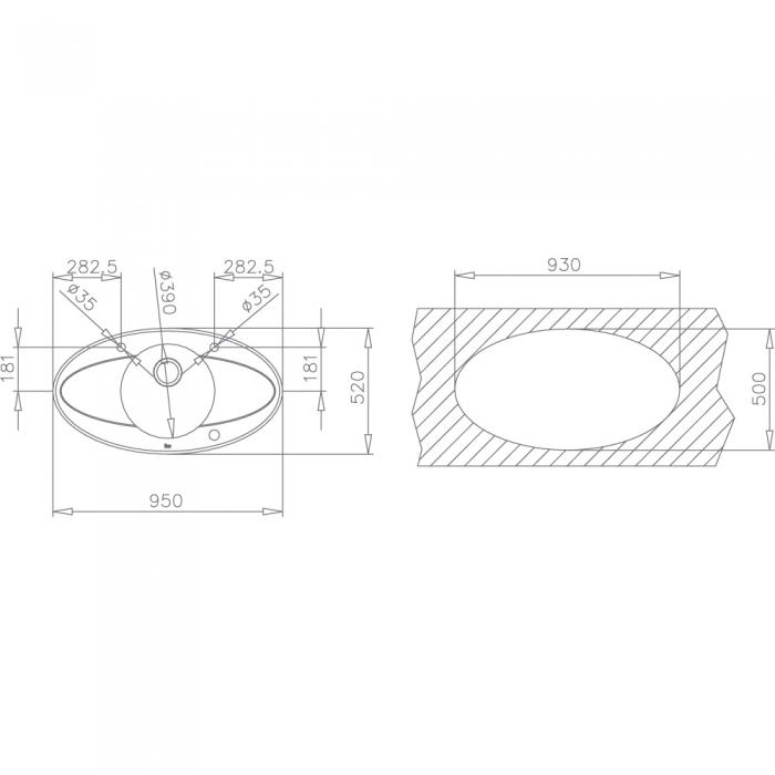 Chiuveta din inox si sticla securizata de culoare neagra + baterie cu teava inalta cu Touch control Teka i-Sink 95 DX 4