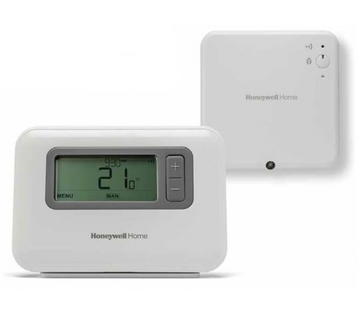 Cronotermostat de ambient, wireless, Honeywell T3R 1