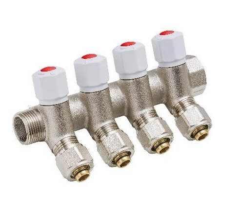 Distribuitor modular pentru apa calda Jurgen Schlosser Armaturen 1/2 x 3/4 [0]