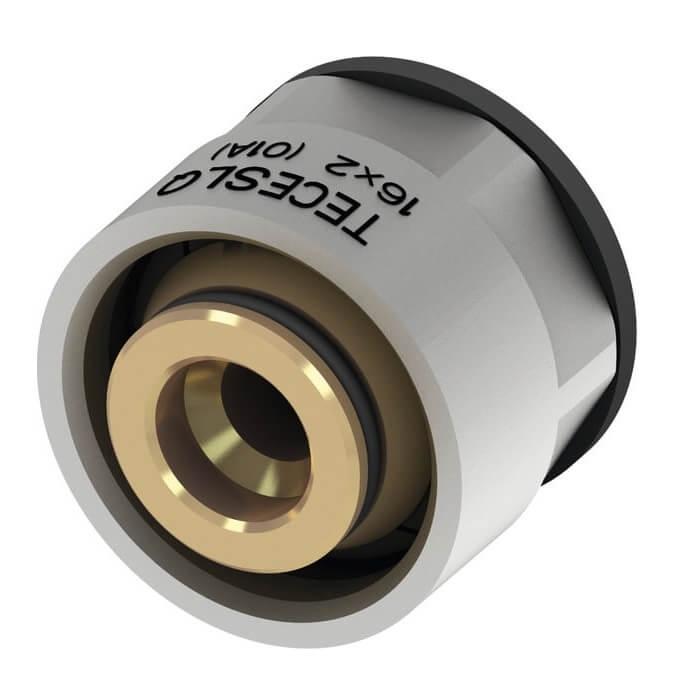 Eurocon TECE SLQ 3/4 nichelat pentru imbinare cu toate tipurile de tevi pentru incalzire in pardoseala 0