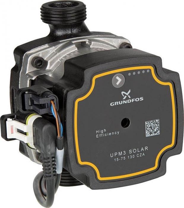 Grup de pompare simplu pentru instalatii solare cu pompa Grundfos UPM3 [2]