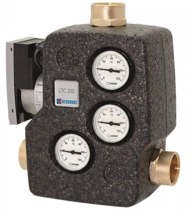Grup de pompare termostatic pentru centrale pe lemne ESBE LTC 271 50/60 0
