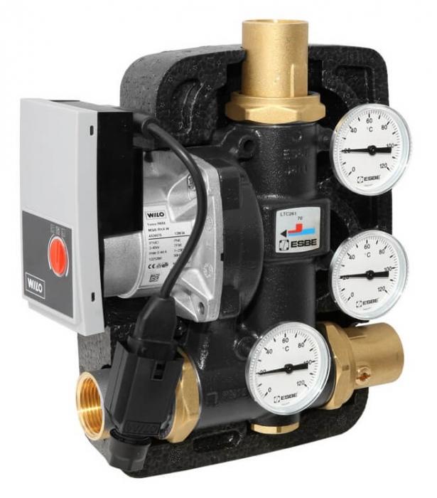 Grup de pompare termostatic pentru centrale pe lemne ESBE LTC 271 50/60 1