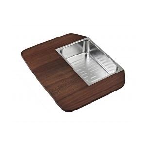 Kit tocator din lemn si sita inox Teka 40199230 0