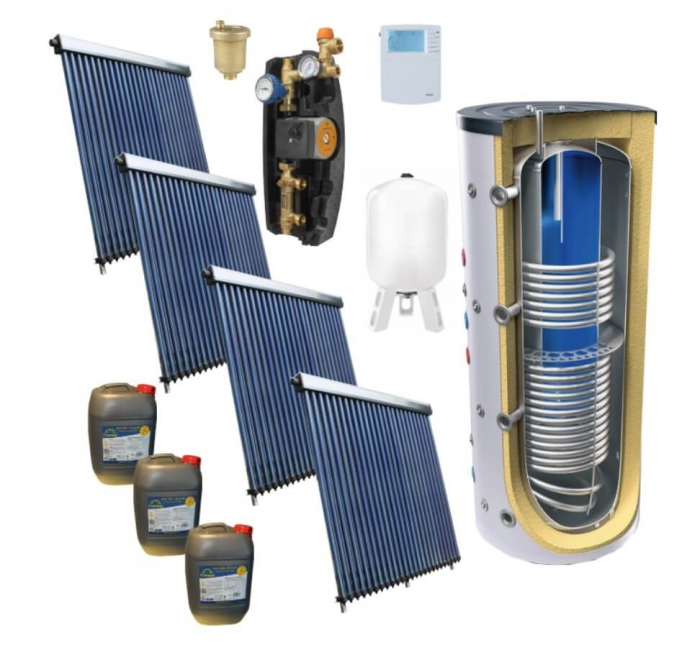 Pachet panou solar pentru aport la incalzire – 150MP [0]