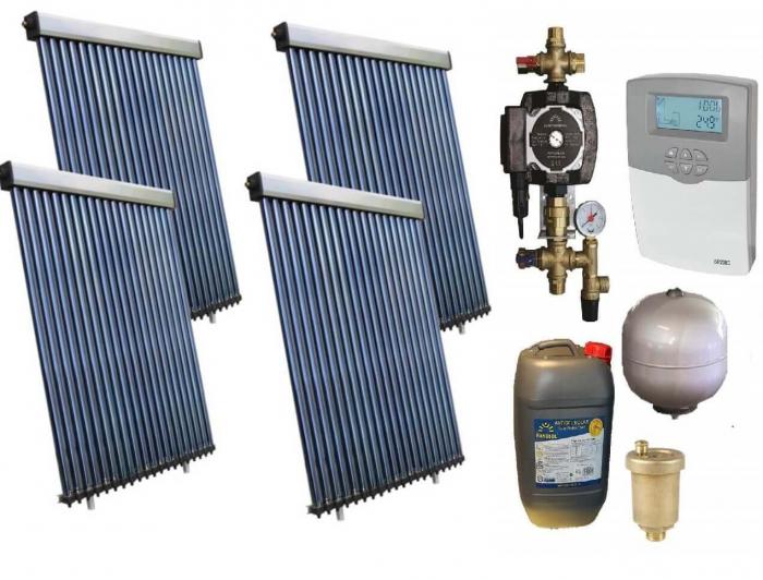 Pachet panouri solare pentru boiler de 1000l - 20 persoane [0]
