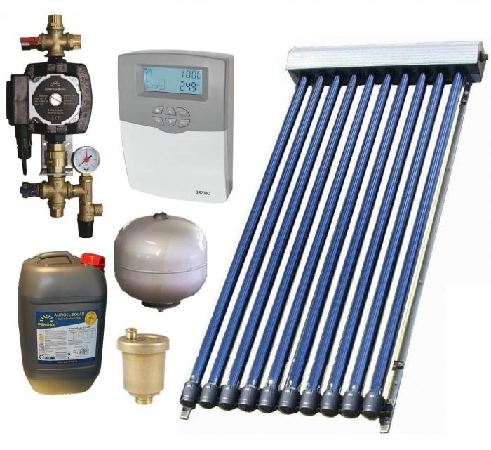 Pachet panouri solare pentru boiler de 100l 0